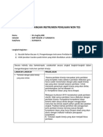 LK 4.2 Pengembangan Instrumen Penilaian Non Tes