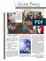 March 2009 Stone Newsletter, Stone Church of Willow Glen