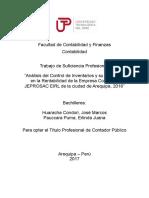 Jose Huaracha_Erlinda Pauccara_Trabajo de Suficiencia Profesional_Título Profesional_2017