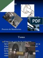 Torneado Procesos de Manuefactura
