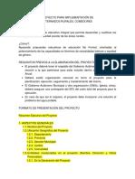 1.1. Formato de Proyecto Para Internados y Comedores Rurales