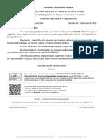 Sistema de Regulação de especialidades Médicas da SES-DF/Conveniados