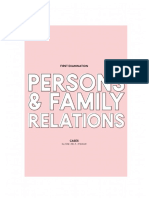 Persons and Family Relations - First Examination - CASES [Incomplete].pdf