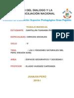 Monografia Sobre La Flora y Fauna Del Peru