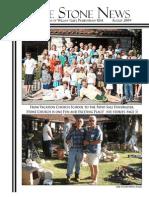 August 2009 Stone Newsletter, Stone Church of Willow Glen
