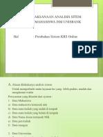 perancangan sistem krs