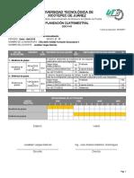 Planeación Cuatrimestral Formación Sociocultural II 2E