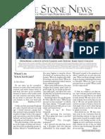 February 2010 Stone Newsletter, Stone Church of Willow Glen