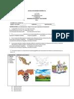 Examen 1er Bim Geografia