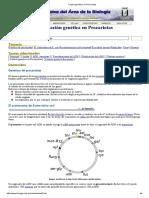 Control Genético en Procariotas