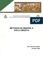 20111122 Metodos Mineria a Cielo Abierto