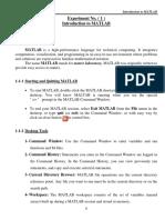 Matlab Lab Experiments (1)