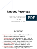 2-Igneous Petrology and Magma