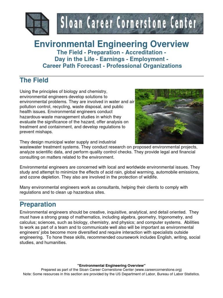 Environmental Engineering | Environmental Engineering