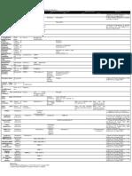 Descripción de  enzimas en las vías metabólicas.