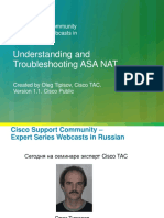 136047 Understanding and Troubleshooting ASA NAT