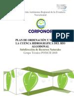 Plan de Ordenacion y Manejo Cuenca Rio Algodonal