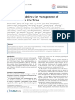 2013 WSES guidelines for management of intra-abdominal infections