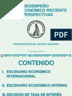 Escenario Económico Internacional