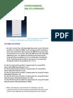 Beko Dfs1500 Dishwasher_ Functional Test & Eeprom Reset