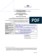 Annex a Application Form P1 and P2 ROM