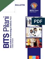 BPDC Admission Bulletin