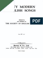 50_modern English Songs_tutte Le Voci_autori Vari