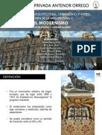 El Modernismo (Horta y Gaudi)