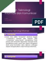 Peralatan Teknologi Informasi Dan Komunikasi
