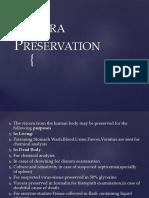 Viscera Preservation