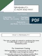 Shell Permeability Presentation