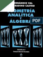 Geometría Analítica y Álgebra (Walter Fernandez Val)
