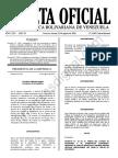 Gaceta Oficial Extraordinaria 6403 Decreto 3601