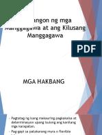 Pagbangon ng mga Manggagawa at ang Kilusang Manggagawa.pptx
