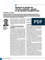 Article Option Droit Et Affaires Pactes d'Actionnaires