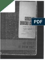 Texto Los Bienes y Los Derechos Reales. Concepto de Cosas, Cosas Corporales y Cosas Incorporales