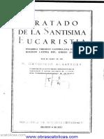 Tratado de La Santisima Eucaristia