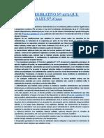 DECRETO LEGISLATIVO Nº 1272 QUE MODIFICA LA LEY Nº 27444.docx