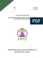 Soal Usbn Kimia Smk Kab Indramayu_P1_2018