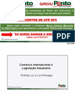 Rodrigo Luz - Legislação Aduaneira