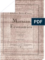 Outline Study Course in Marxian Economics - Paul Mattick