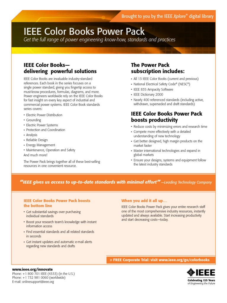 ieee color books power pack institute of electrical and electronics engineers electric power system - Ieee Color Books