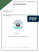 Labour Law Fd