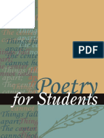 Poetry for Students 3