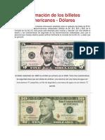 Información de Los Billetes Americanos