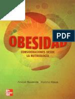 Obesidad Consideraciones Desde La Nutriología - Araceli Suverza, Karime Haua