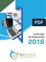Bio Catalogo 2016