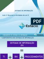 Fundamentos de Sistemas de Informação 1 periodo  Aula_02