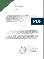 Drugha Izmiena Proghrama Poslovanja JKP ,, - Skupshtina Ghrada Panchieva
