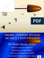 Medio Interno Agua y Electrolitos